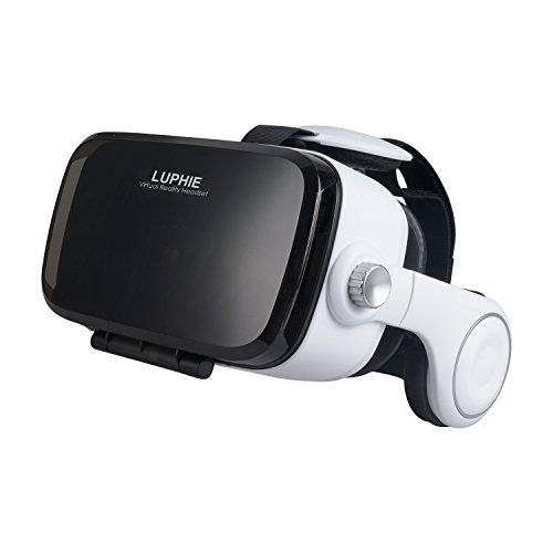 LUPHIE-3D-VR-Headset-Virtual-Reality-Glasses-with-Build-in-Stereo-Headphones-and-Adjustable-Strap-for-iPhone-Android-Smartphones-within-47-62-inches-3rd-Generation-VR-Box