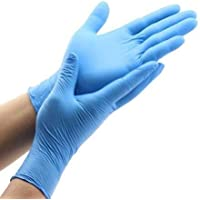 Guante antivirus nitrilo azul T-M caja 100 un
