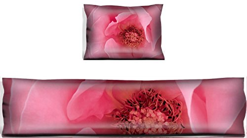 MSD Mouse Wrist Rest and Keyboard Pad Set, 2pc Wrist Support IMAGE ID 32575341 Beautiful pastel pink rose flower
