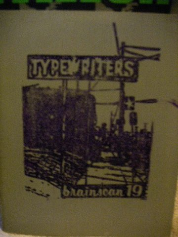 Typewriters - Brainscan 19, December 2002 (Portland Zine)