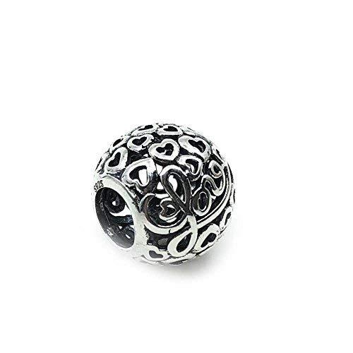 a35d4dade576 19 Charms 100% Plata de Ley 925 para Pulseras para Charms Tipo Pandora,  Chamilia, Biagi, Swarovski. Abalorios,Beads,dijes,Charms Plata