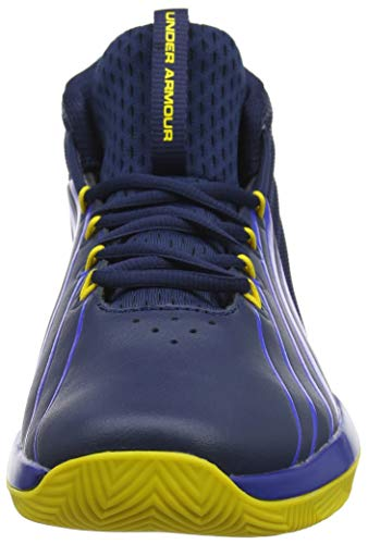 Pictures of Under Armour Men's Launch Basketball Shoe 3020622 Academy (400)/Royal 5