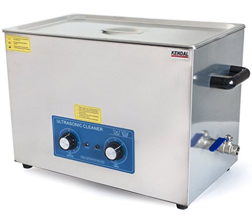 Kendal Commercial grade 980 watts 5.55 gallon (21 liters) heated ultrasonic cleaner HB821MHT by Kendal