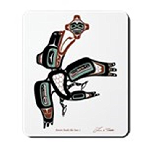 CafePress - Raven Steals the Sun Mousepad - Non-slip Rubber Mousepad, Gaming Mouse Pad