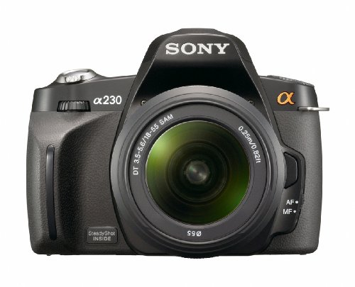 Sony Alpha A230L 10.2 MP Digital SLR Camera with Super Stead