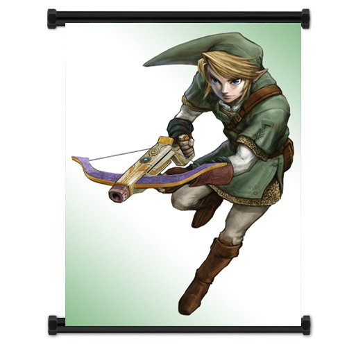 Legend of Zelda: Twilight Princess Game Fabric Wall Poster