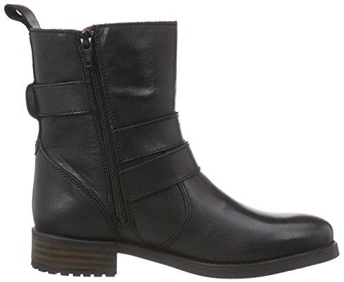 Buffalo LondonES 30508 GARDA - botas Mujer Negro - Schwarz (PRETO 22)