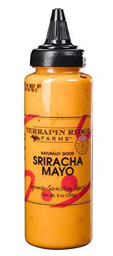 Terrapin Ridge Farms Sriracha Aioli Garnishing Squeeze 7.75 OZ (Pack of 6) ()
