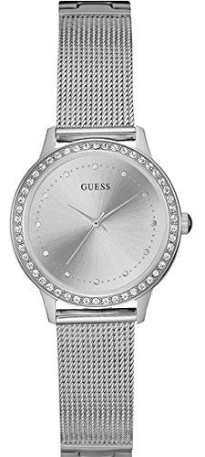 Guess Reloj Análogo clásico para Mujer de Cuarzo con Correa en Acero Inoxidable W0647L6: Amazon.es: Relojes