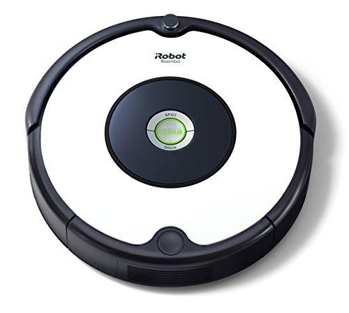iRobot-Roomba-605-Robot-Aspirapolvere-Sistema-di-Pulizia-ad-Alte-Prestazioni-Adatto-a-Pavimenti-e-Tappeti-Ottimo-per-i-Peli-degli-Animali-Domestici-33-watt-Autonomia-fino-a-1-ora-Bianco