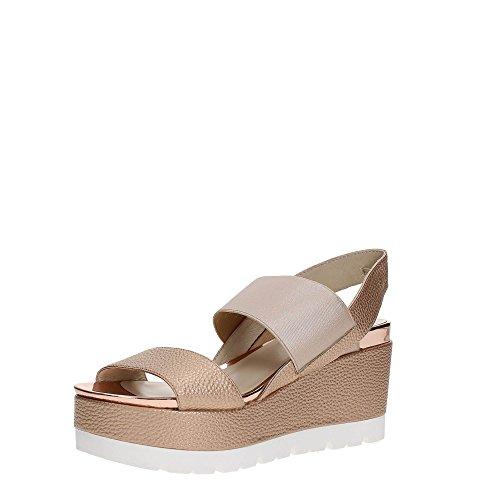 Luciano Barachini 8015 Zapatos De Cuña Mujer Peach
