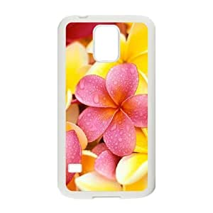 Red Hawaii Flower Unique Design Cover Case for SamSung Galaxy S5 I9600,custom case cover ygtg605608