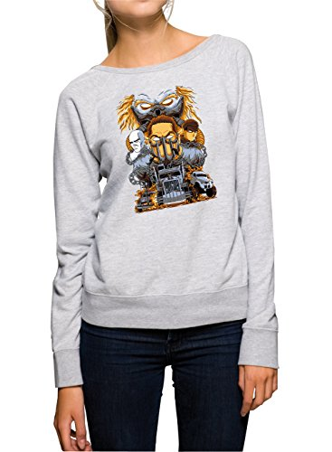 Mad Sweater Girls Gris Certified Freak