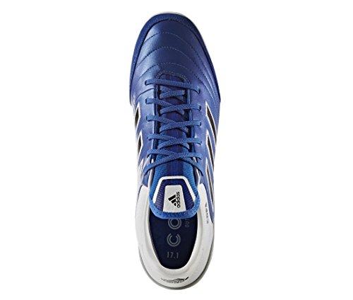 adidas Copa Tango 17.1 In, pour les Chaussures de Formation de Football Homme, Bleu (Blu Azul/Negbas/Ftwbla), 46 EU