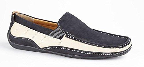 Private Brand brit - Man Hombre Slipper zapato LÄSSIG synthetische Slip On Guantes, color Negro, talla 45 EU: Amazon.es: Zapatos y complementos
