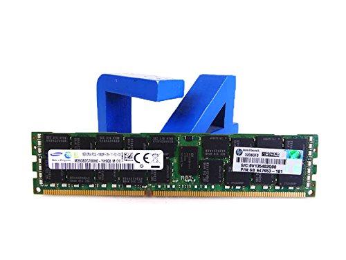 HP 647653-181 HP 16GB (1X16GB) 2RX4 PC3L-10600R MEMORY FOR Gen8 AMD by HP
