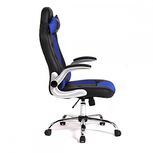 41LLg8k3AgL - New-High-Back-Race-Car-Style-Bucket-Seat-Office-Desk-Chair-Gaming-Chair