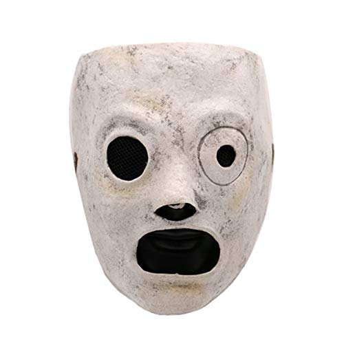 Lucky Lian Slipknot Mask Cosplay Corey Taylor Adjustable Latex Masks Halloween Props]()