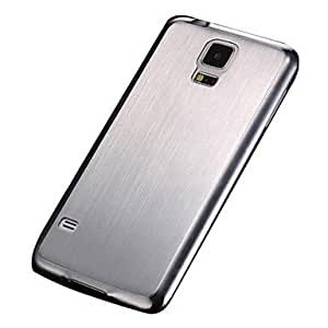 ZX Brushed Aluminum Hard Case for Samsung Galaxy S5 I9600 , Golden