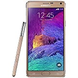 Samsung Galaxy Note 4 (Touch-Display, 3,7 Megapixel Kamera, Android, Bluetooth 4.1) gold