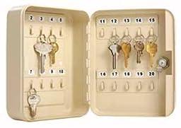 Master Lock 7131D Key Storage Cabinet, 20-Keys
