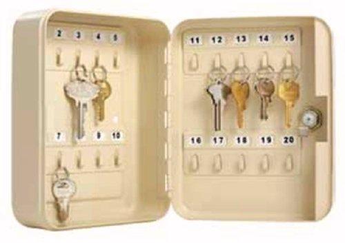 (Master Lock Small Lock Box with 20 Key Capacity, 7131D, Beige)