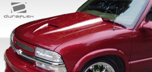 1994-2004 Chevrolet S-10 1995-2004 Blazer 1994-2004 Sonoma 1995-2001 Jimmy 1998-2000 Envoy Duraflex Ram Air Hood - 1 Piece