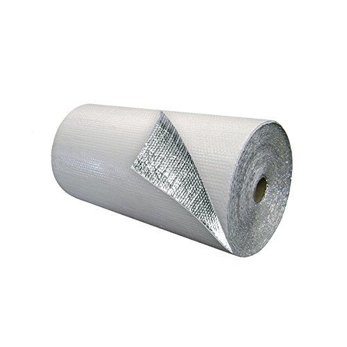 White Single Bubble Insulation w/ Foil 375 s.f.