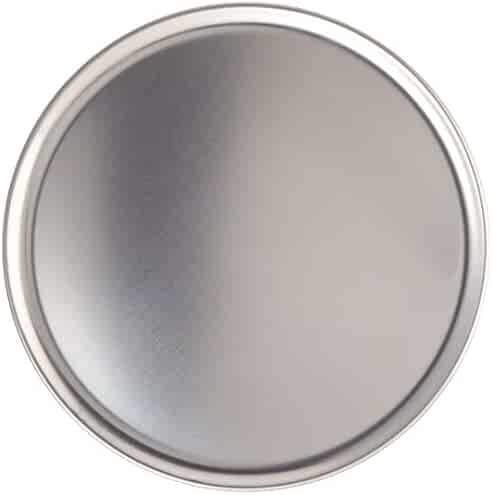 New Star Foodservice 51025 Pizza Pan/Tray, Coupe Style, Aluminum, 12 inch, Pack of 6