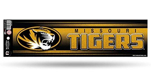 Missouri Tigers Bumper Sticker - (Tigers Glitter Gear)