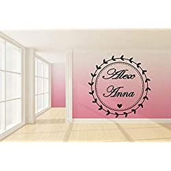 wedding dance floor wall decal dance floor wall sticker wedding wall vinyl wedding decor wedding favors decal personalized ae1169