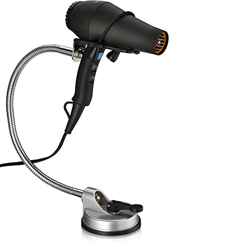 Hands Free Hair Dryer Holder Adjustable Stand With Easy