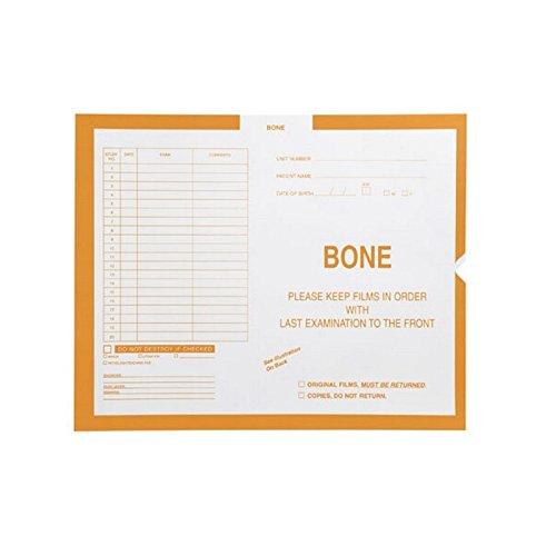 Bone, Yellow #115 - Category Insert Jackets, System II, Open End - 14-1/4'' x 17-1/2'' (Carton of 250)