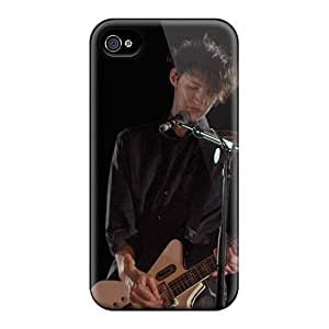 EricHowe Iphone 4/4s Shock Absorption Cell-phone Hard Covers Allow Personal Design Trendy Red Hot Chili Peppers Pictures [wnV10577nEkT]