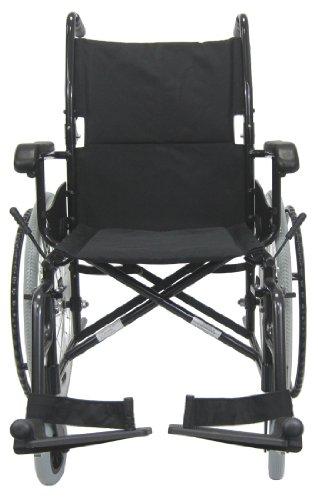 Karman LT-980-BK-E Aluminum Ultra Lightweight Wheelchair,...