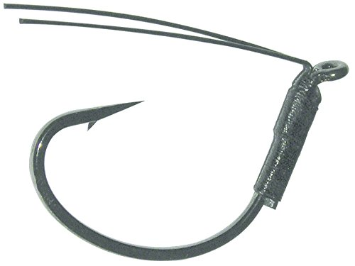 Gamakatsu Wicked Wacky Hook-(Black, 2/0) (3 count)