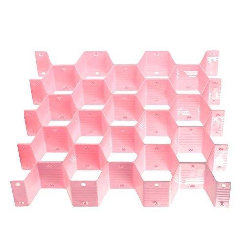 Beautiful Honeycomb shape Sock Tie Drawer Closet,Bee Style Underwear Socks Bras Ties Belts Scarves Drawer Storage Organizer Box Cabinet Clapboard