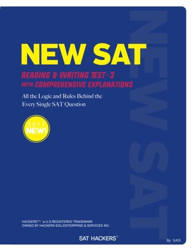 Read Online SAT HACKERS: All the logic and rules behind the every single sat question (SAT Reading & Writing) (Volume 1) ebook