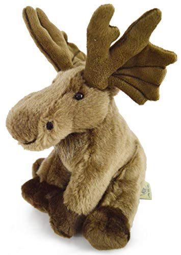 VIAHART Martin The Moose | 9 Inch Realistic Looking Stuffed Animal Plush | by Tiger Tale - Moose Canada