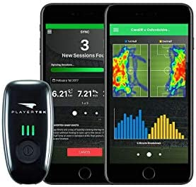 C CATAPULT PlayerTek Soccer Tracker – GPS Vest with App to Track and Analyse Your Game – on iPhone and Android XS