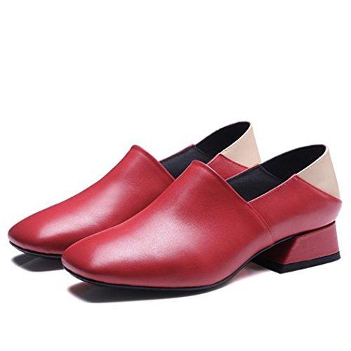 La Square De Gaolixia High Mid Head Mujer Zapatos Heels q1qRxTg8w