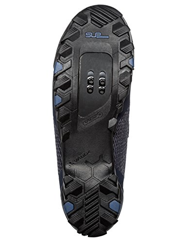 Vaude Mens Tvl Hjul Mountain Bike Scarpe Blu (eclipse 750)