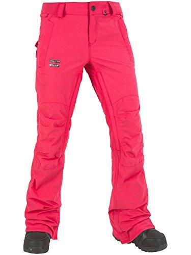 Knox Gore Snowboardhose black bright rose
