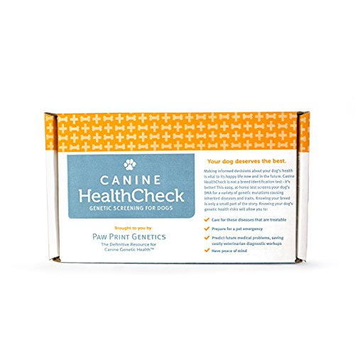 Canine Health Check - Genetic Health and Disease Screening Test for Dogs - Predict, Treat, and Care for your Pet's Medical Problems