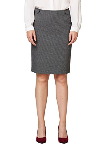 ESPRIT Collection, Jupe Femme Gris (Anthracite 010)