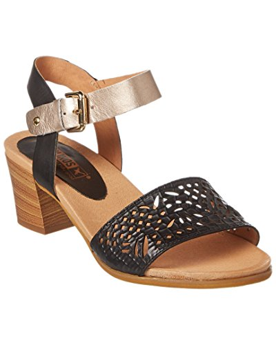 Black Sandal Heel Women's 0523C1 W1A Leather Pikolinos xpwBUYqU