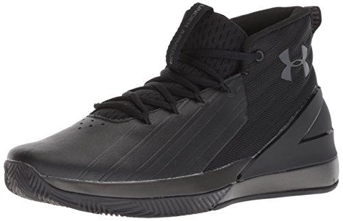 - Under Armour Men's Launch Basketball Shoe, Black (001)/Charcoal, 10