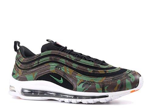 Nike Air Max 97 Premium QS Schuhe Sneaker Neu Unisex Raw Umber / Fortress Green-Black