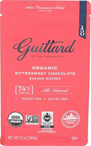 Guittard, Baking Wafer Bittersweet 74% Organic, 12 ()