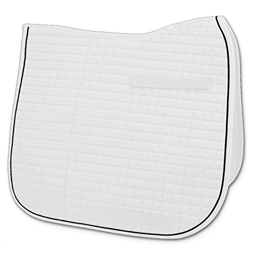 Passport Square Quilted Dressage Saddle Pad - Size:23